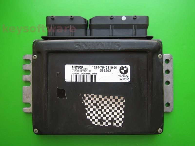 ECU Mini Cooper 1.6 7542310 S118012003B EMS2