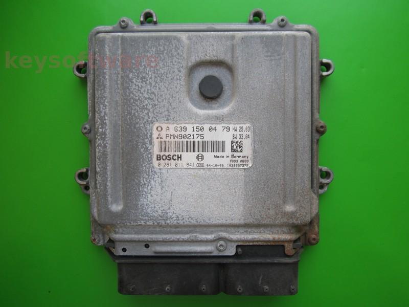 ECU Mitsubishi Colt 1.5DID 0281011841 PMN902175 EDC16C33