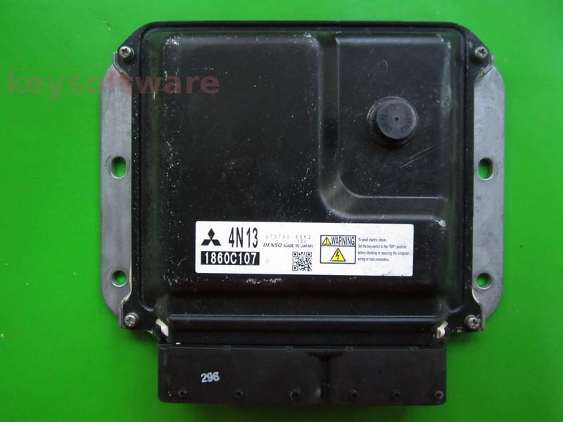 ECU Mitsubishi ASX 1.8 1860C107 275700-2962 4N13