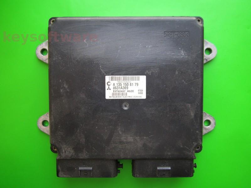 ECU Mitsubishi Colt 1.3 8631A369 E6T42487