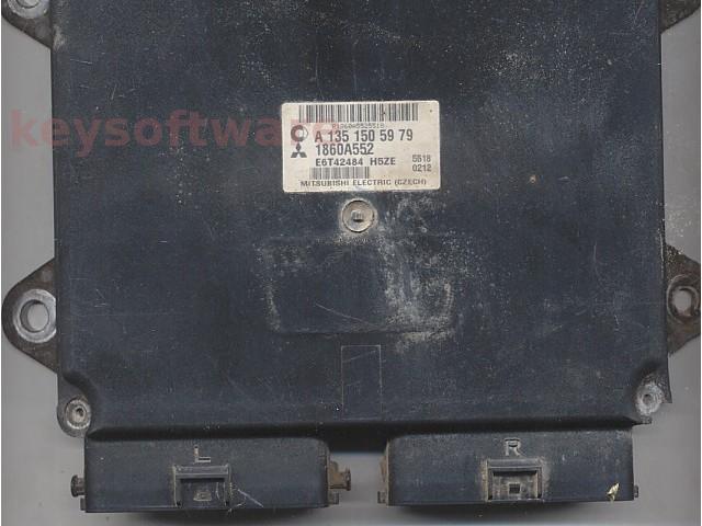 ECU Mitsubishi Colt 1.3 1860A552 A1351505979 {