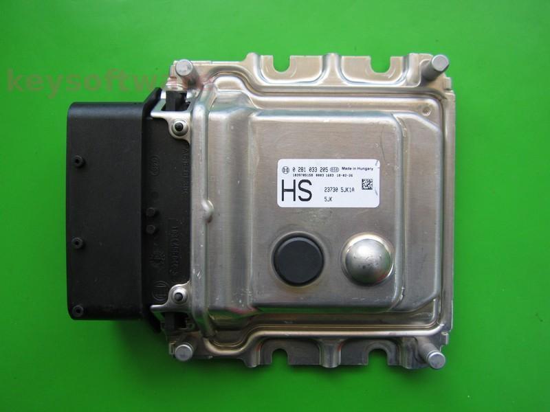 ECU Nissan Navara 2.3D 0281033205
