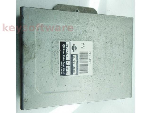 ECU Nissan Almera 1.4 MEC-N207 23710-2N305 YN{