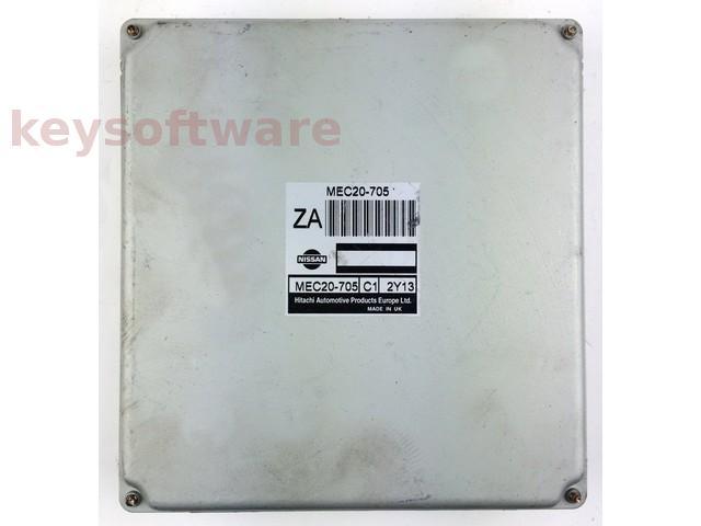 ECU Nissan Almera 1.8 MEC20-705 ZA {