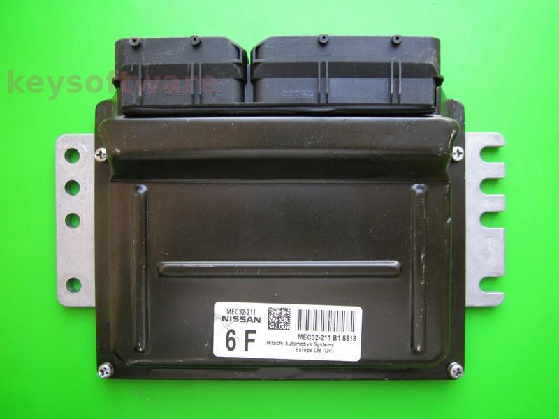 ECU Nissan Almera 1.5 MEC32-211 6F