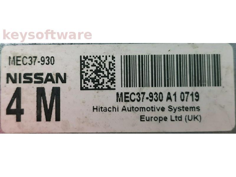 ECU Nissan Juke 1.6 MEC37-930 C1 {