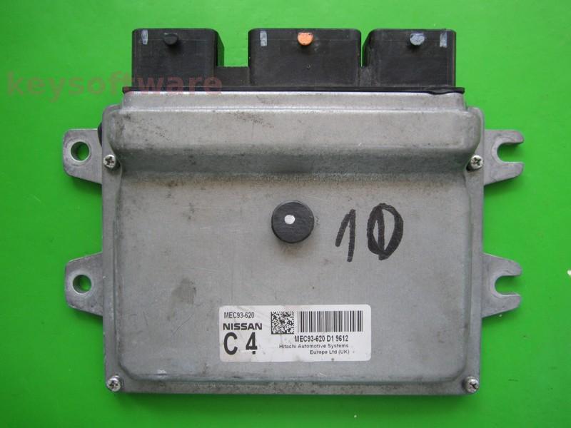 ECU Nissan Qashqai 1.6 MEC93-620 C4