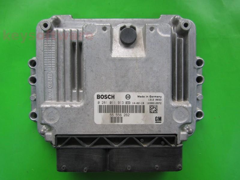 ECU Opel Astra 1.9CDTI 0281011913 EDC16C9 {