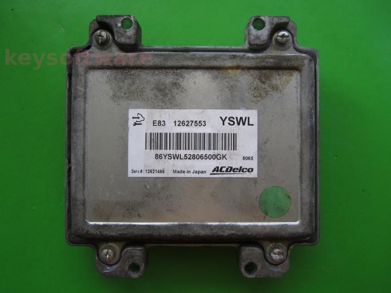 ECU Opel Insignia 1.6CDTI 12627553 ACDELCO E83