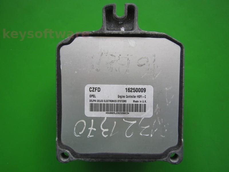 ECU Opel Zafira 1.6 16250009 CZFD X16XEL HSFI-C +