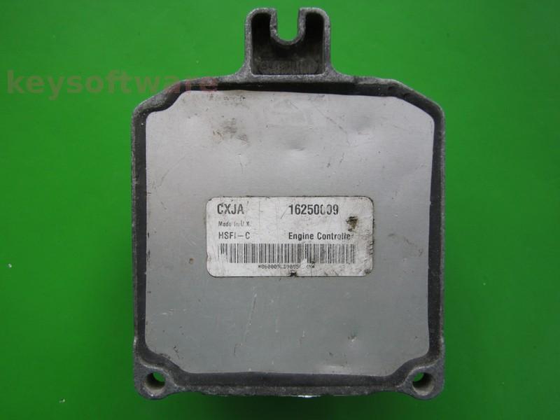 ECU Opel Zafira 1.6 16250009 CXJA X16XEL HSFI-C +