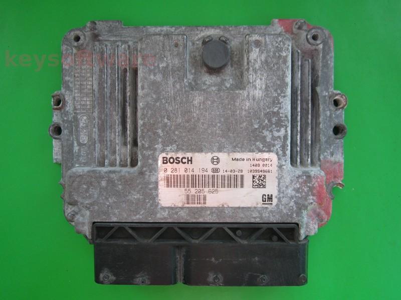 ECU Opel Astra 1.9CDTI 0281014194 EDC16C39 {