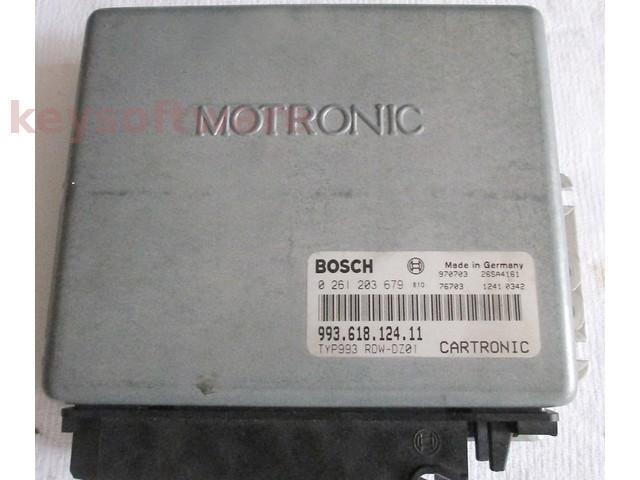ECU Porsche 993 3.6 99361812411 0261203679 M2.10.1 {