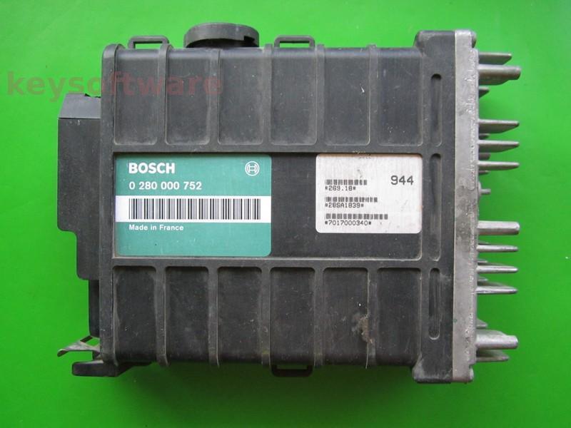 ECU Peugeot 106 1.4 0280000752