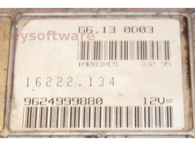 ECU Peugeot 106 1.1 9624999880 G6.13 0D03 {