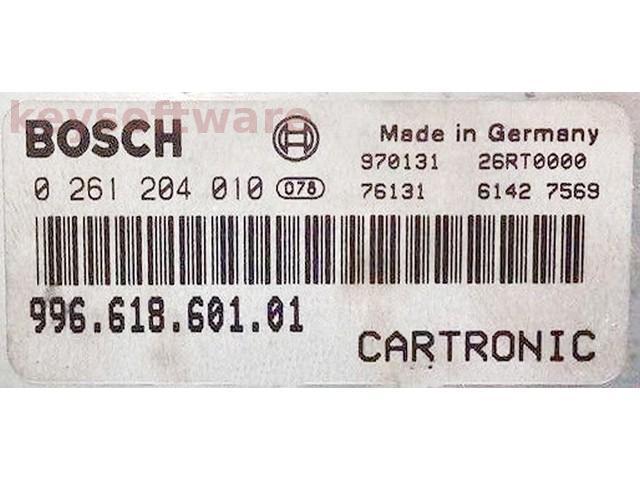 ECU Porsche Boxster 2.5 99661860101 0261204010 M5.2.2 {