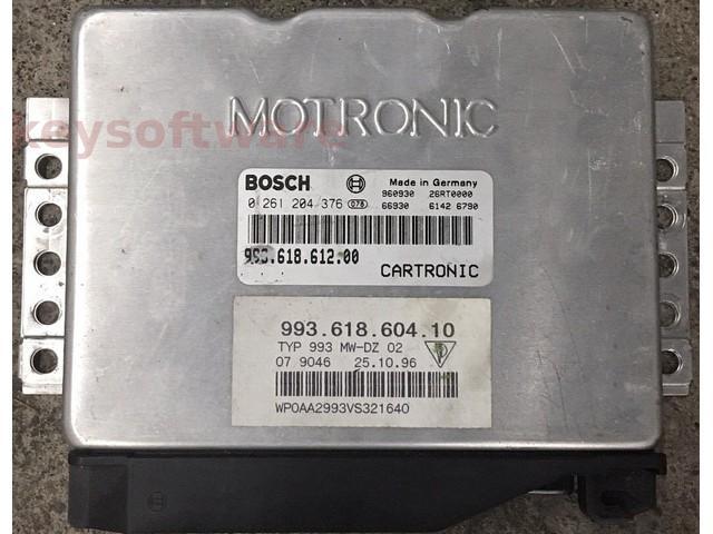 ECU Porsche 993 3.6 99361861200 0261204376 M5.2 {