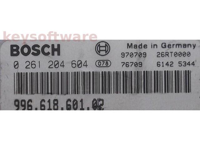 ECU Porsche Boxster 2.5 99661860102 0261204604 M5.2.2 {