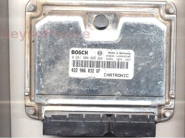 ECU Porsche Cayenne 3.2 022906032GF 0261208668 ME7.1.1