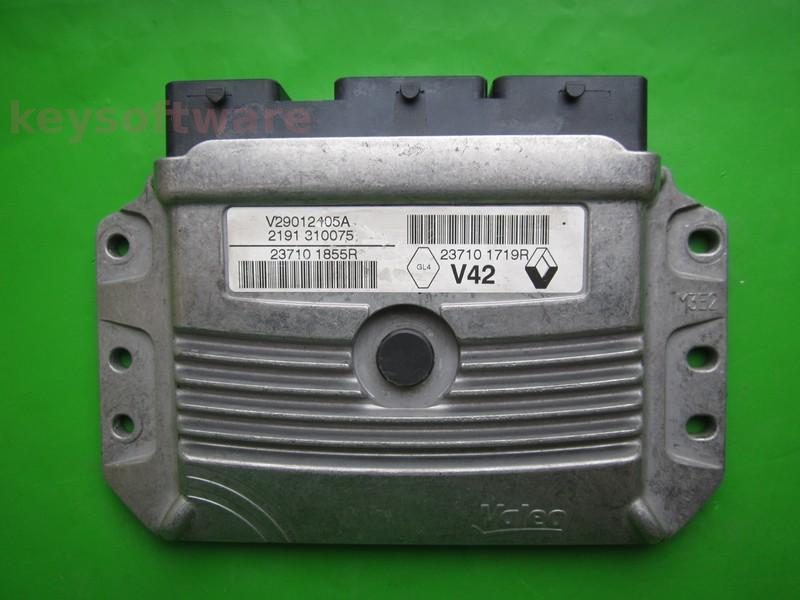 ECU Dacia Duster 1.6 237101855R 237101719R V42