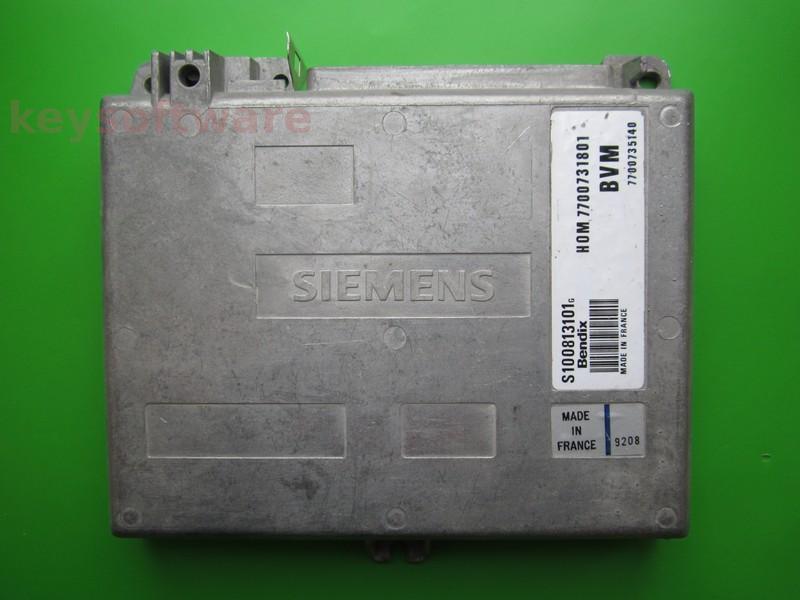 ECU Renault 19 1.4 HOM7700731801 S100813101G Bendix