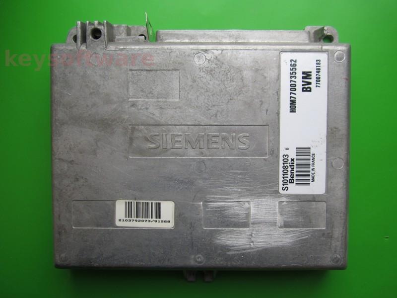 ECU Renault 21 2.2 HOM7700735562 Fenix3B