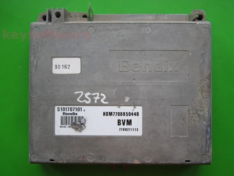 ECU Renault 19 1.7 HOM7700850440 S101707101A Bendix