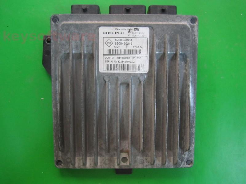 ECU Renault Modus 1.5DCI 8200430213 81118D DCM1.2