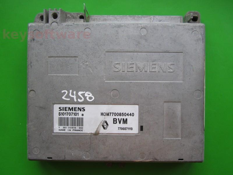 ECU Renault 19 1.7 HOM7700850440 Fenix3B