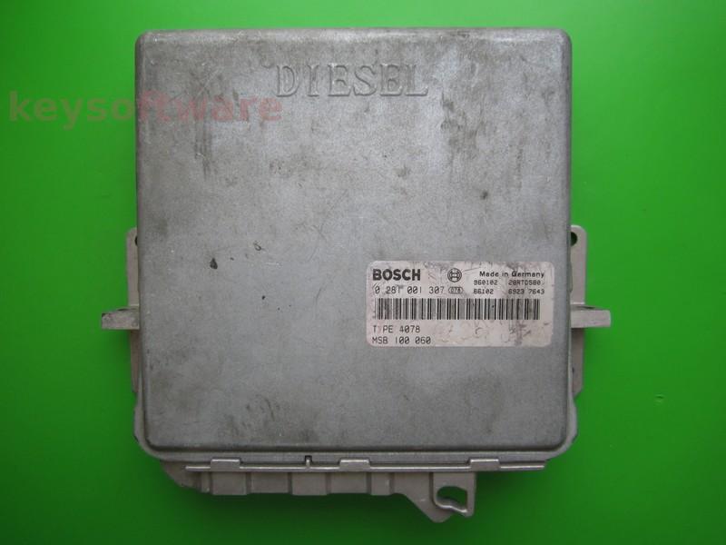 ECU Rover 620 2.0D MSB100060 0281001307 MSA11