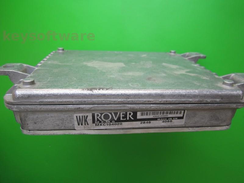 ECU Rover 214 1.4 MKC104020 WK