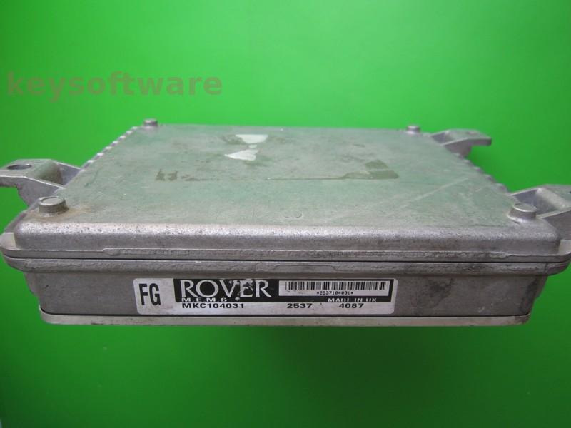 ECU Rover 400 1.6 MKC104031 FG