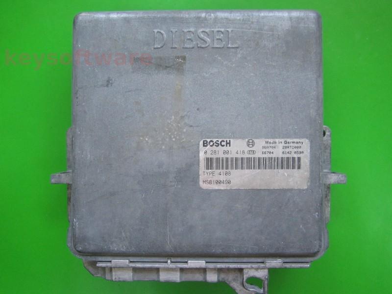 ECU Rover 220 2.0D MSB100490 0281001418 MSA11