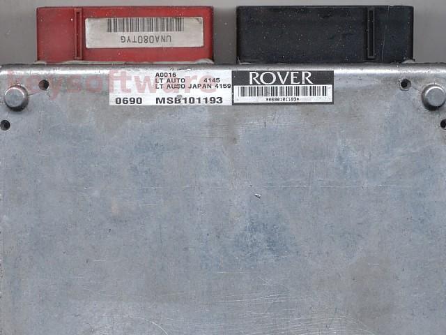 ECU Land Rover Discovery 2.5TDI MSB101193