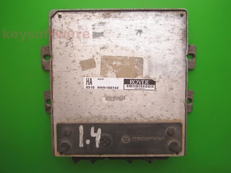 ECU Rover 25 1.4 NNN100742 HA