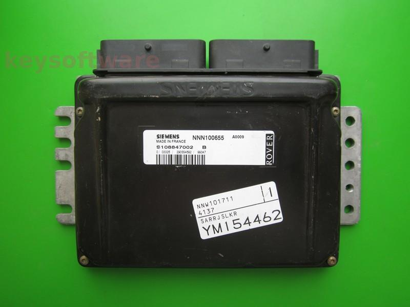 ECU Rover 75 2.8 NNN100655 S108847002B