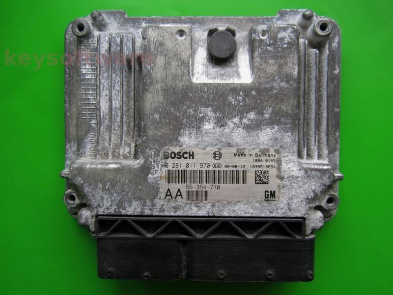 ECU Saab 9-3 1.9TID 55354770 0281011970 EDC16C9 }