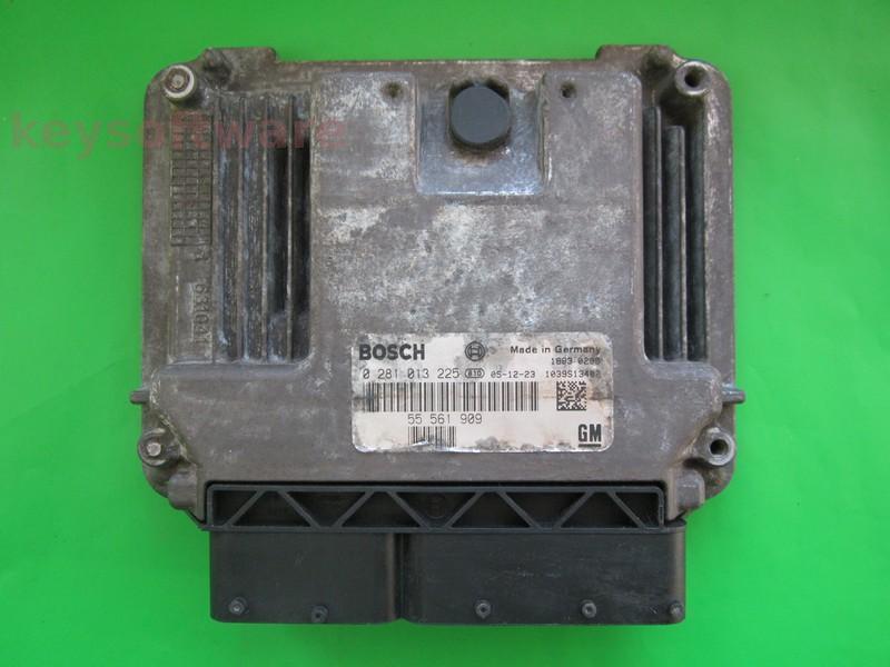 ECU Saab 9-3 1.9TID 55561909 0281013225 EDC16C9 {