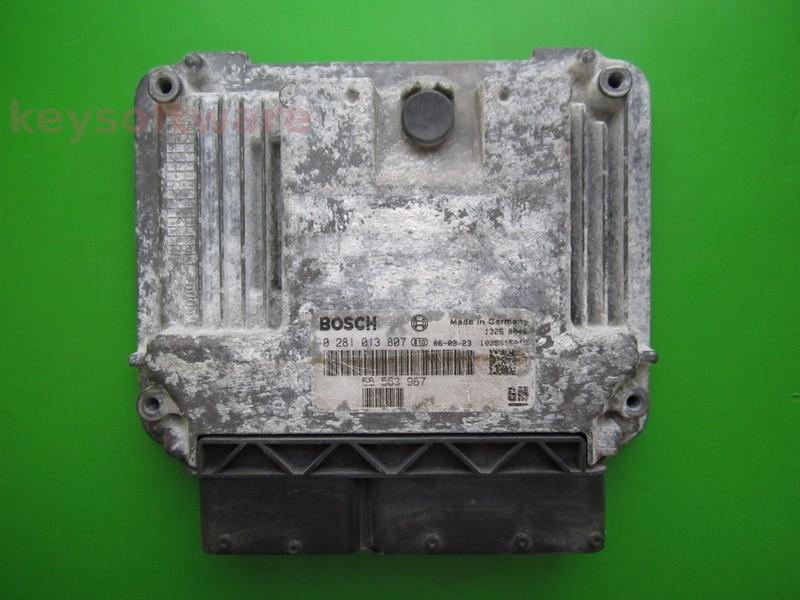 ECU Saab 9-3 1.9TID 55563967 0281013807 EDC16C9