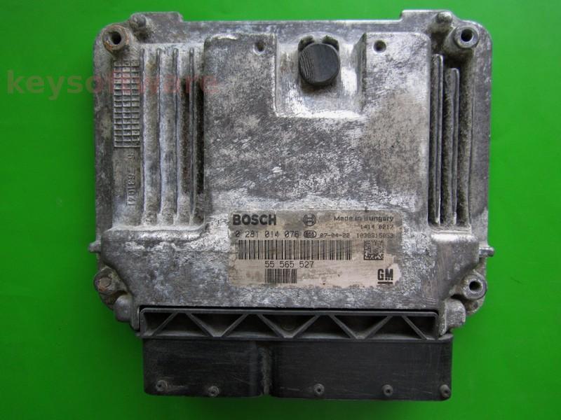 ECU Saab 9-3 1.9TID 55565527 0281014076 EDC16C39 }