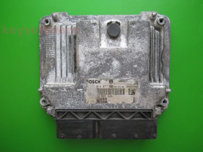 ECU Saab 9-3 1.9TID 55565526 0281014077 EDC16C39 }