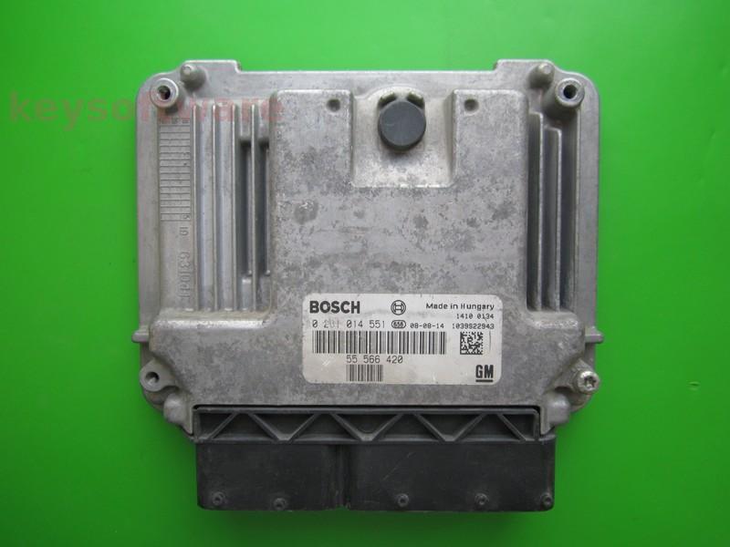 ECU Saab 9-3 1.9TID 55566420 0281014551 EDC16C39 {