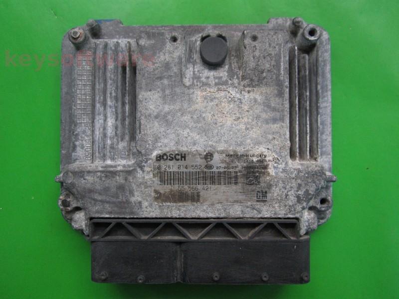 ECU Saab 9-3 1.9TID 55566421 0281014552 EDC16C39 {