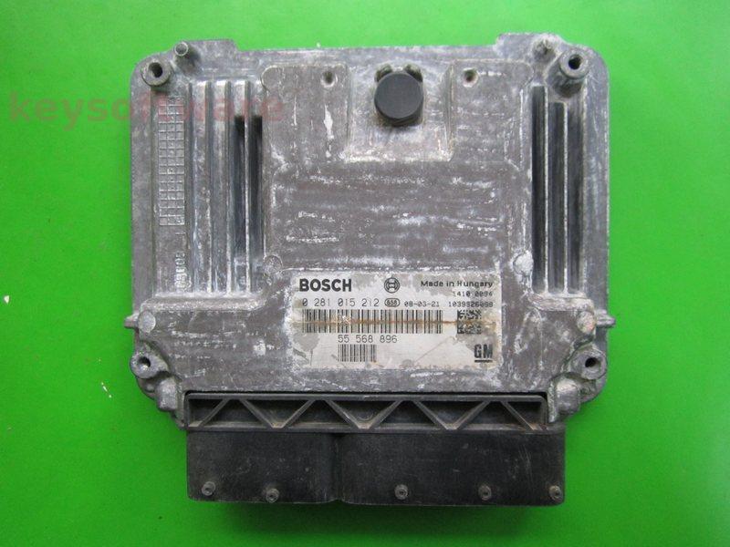 ECU Saab 9-3 1.9TID 55568896 0281015212 EDC16C39 {