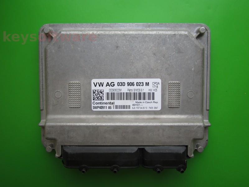 ECU Skoda Fabia 1.2 03D906023M 5WP40911 SIMOS 9.1