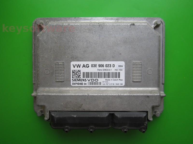 ECU Skoda Fabia 1.2 03E906023D 5WP40460 SIMOS 9.1 }