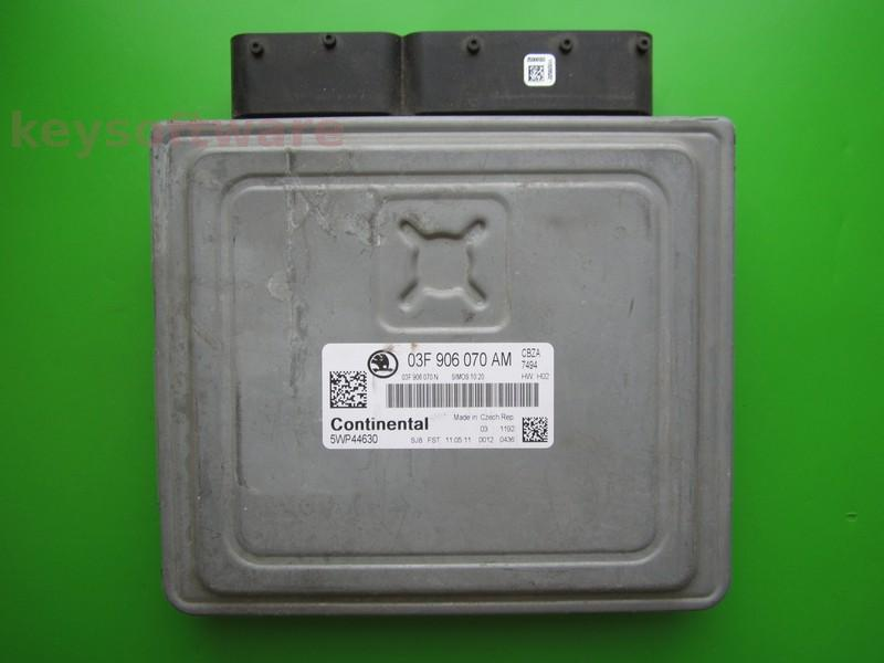 ECU Skoda Fabia 1.2 03F906070AM SIMOS 10.20