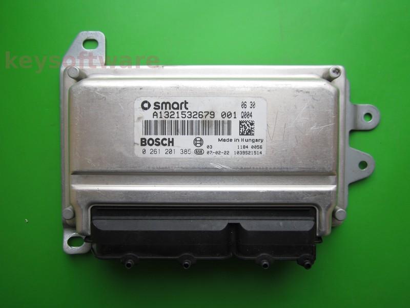 ECU Smart ForTwo 1.0 0261201385 ME7-70