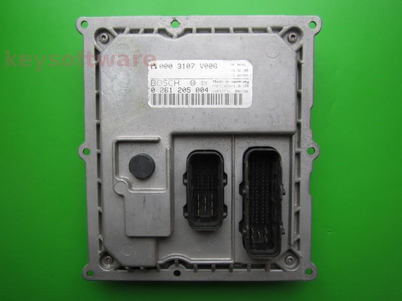 ECU Smart Fortwo 0.7 0261205004 MEG1.0