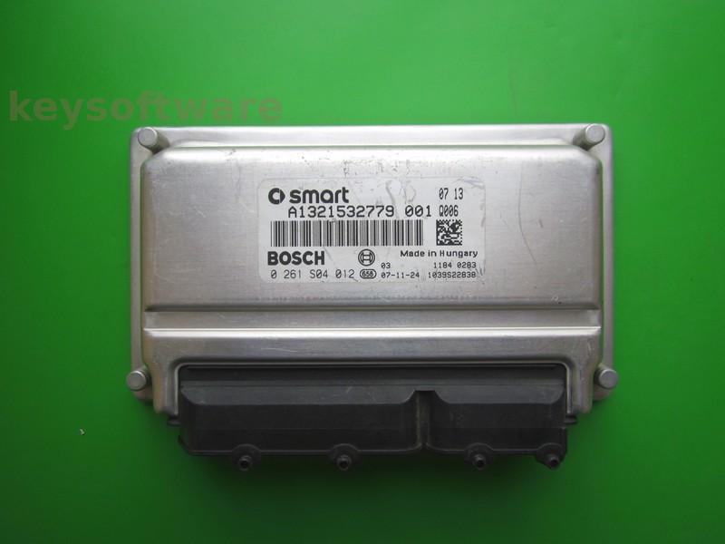 ECU Smart ForTwo 1.0 0261S04012 ME7-70